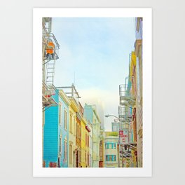 SF Tops 1 Art Print