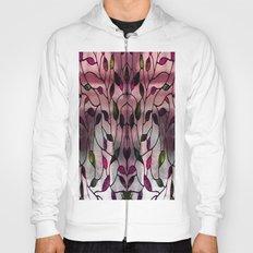 Viola Leafy Pattern Hoody