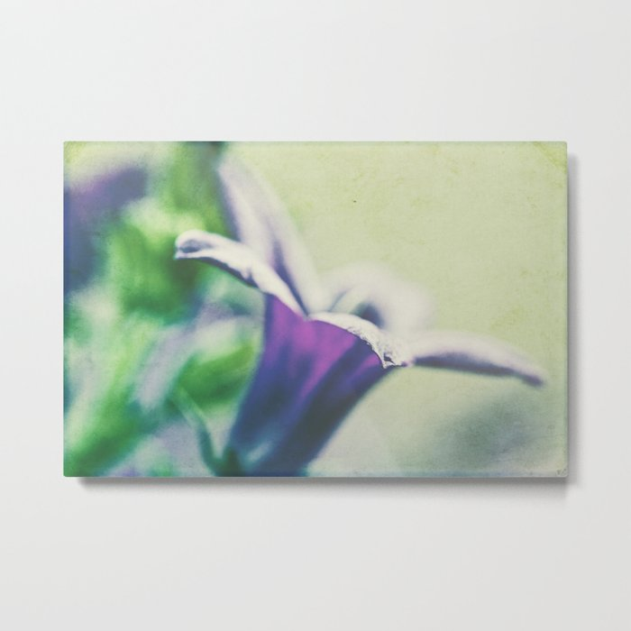 flower canvas Metal Print