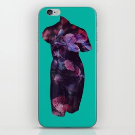 She Who Lives Delicately iPhone Skin