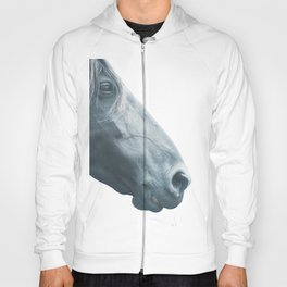 Horse head - fine art print n° 2, nature love, animal lovers, wall decoration, interior design, home Hoody