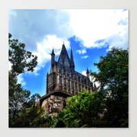 hogwarts Canvas Prints featuring Hogwarts by Caleb Blank Photography