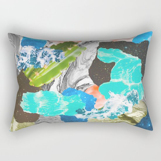 Layers of the Earth Rectangular Pillow