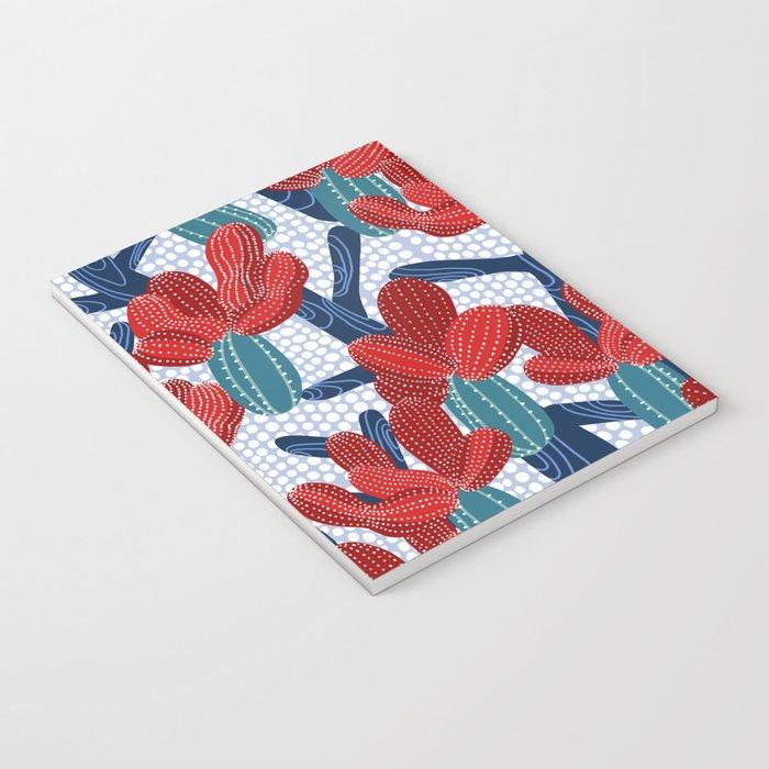 Winter Cactus Notebook