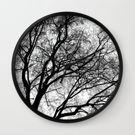 Tree Silhouette Series 1 Wall Clock