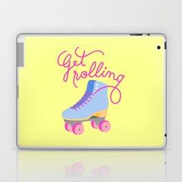 Get Rolling (Yellow Background) Laptop & iPad Skin