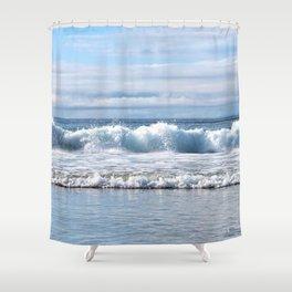 Splashing Sea Shower Curtain
