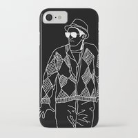 eddie vedder iPhone & iPod Cases featuring eddie by Panic Junkie