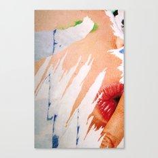 Chut ! Quiet ! Canvas Print