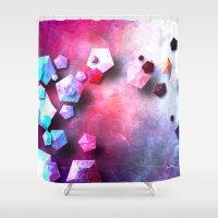 neil gaiman Shower Curtains featuring β Persei by Nireth