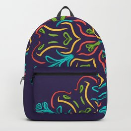 Llegó la Primavera (Ultravioleta) Backpack
