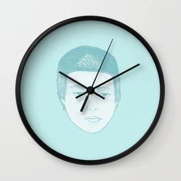 Blue Luke Wall Clock