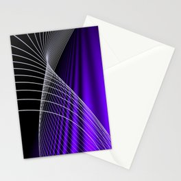 lines and colors -c- Stationery Cards