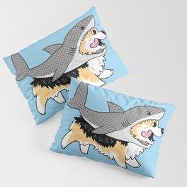 Another Corgi in a Shark Suit Pillow Sham