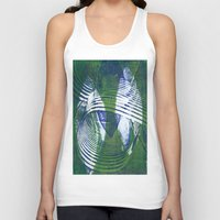 wave Tank Tops featuring Wave by Sandra Hedicke Clark