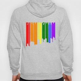 Birmingham Alabama Gay Pride Rainbow Skyline Hoody