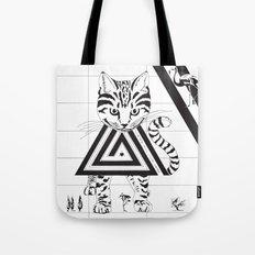 Alice in Wonderland Series - We're All Mad Here Tote Bag