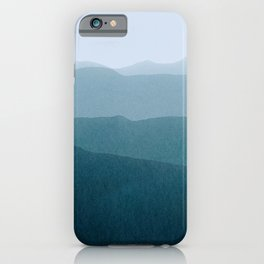 gradient landscape iPhone Case