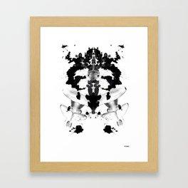 Bare Thoughts Framed Art Print