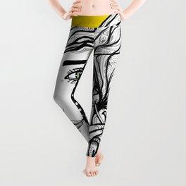 Vibrant Symbiose Leggings