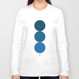 blue i 001 Long Sleeve T-shirt