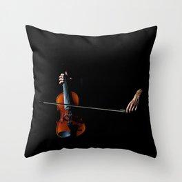 Musical Hand Throw Pillow