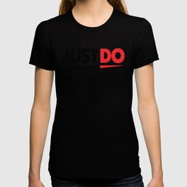 Just Do Something Sharp black-red T-shirt