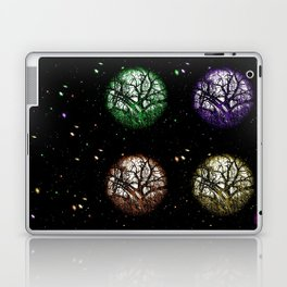 Tree Planets Laptop & iPad Skin