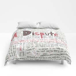 La Dispute Lyrics Comforters