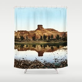 Green River, Wyoming, 1898 Shower Curtain