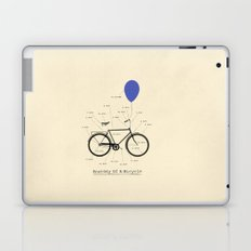 Anatomy Of A Bicycle Laptop & iPad Skin