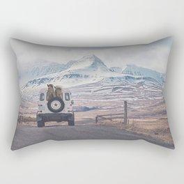 NEVER STOP EXPLORING ICELAND Rectangular Pillow