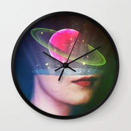 The Elements Of Mentality Wall Clock