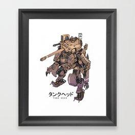 TankHead Framed Art Print