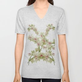 Orchidee fantasy Unisex V-Neck