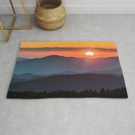 Smoky Mountain National Park Sunset - 19/365 Rug