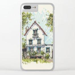 Maison a Paris Clear iPhone Case
