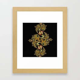 Golden Star Framed Art Print