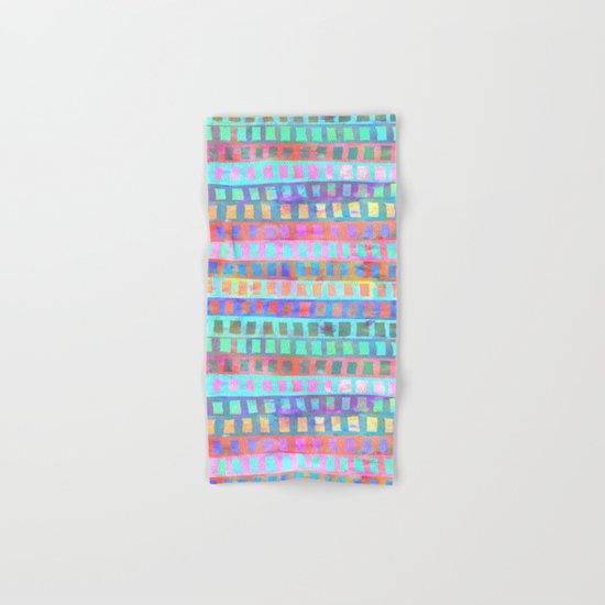 Tribal Pattern 03 Hand & Bath Towel