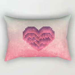 Interstellar Heart IV Rectangular Pillow