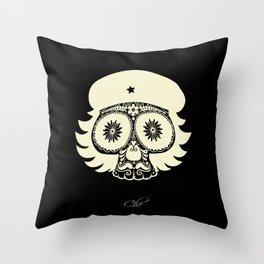 Dead Guevara Throw Pillow