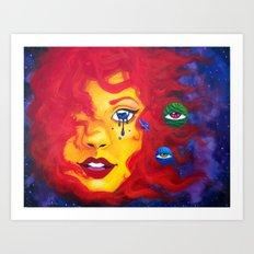 La Madre Sol Art Print