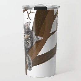Tree Cat Travel Mug