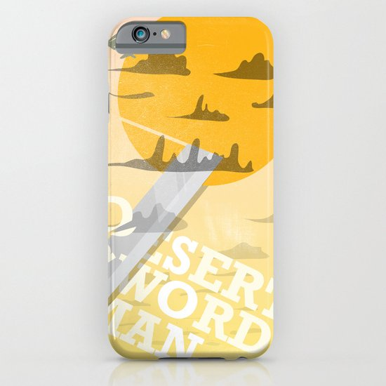 Desert Swordsman iPhone & iPod Case