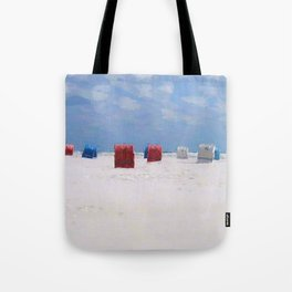 The storm has gone Tote Bag