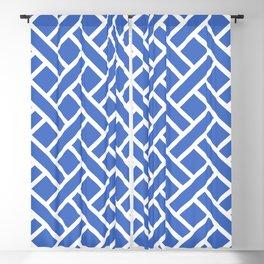 Geometric Trellis Weave Pattern 141 Blackout Curtain