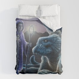 The sorceress and the dragon Comforters