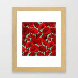 Poppies I Framed Art Print
