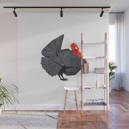 Origami Turkey Wall Mural