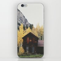cabin iPhone & iPod Skins featuring Crystal Cabin by Kevin Russ